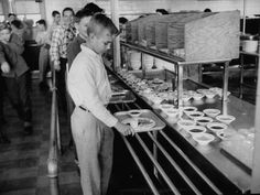 Schools first began providing food for children because so many were undernourished and farmers had extra crops to sell. As children eating in elementary school cafeterias in the we might ha…