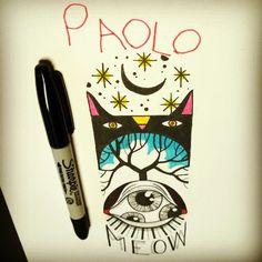 #stefanoarici #ink #inked #china #Black #blackwork #blackworkers #blackworker #graphic #graphisme #graphique #line #linework #dessin #dibujo #painting #paint #sketch #illustration #Brescia #draw #art #noir #nero #sketchbook #blackbook #disegno #artbrut #brutart #flashtattoo #flash #flashwork #son #paolo #meow #gatto #cat