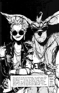 Old Skool - Tank Girl by Jamie Hewlett 1989