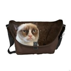 Shop Grumpy Cat Classic Messenger Bag created by thegrumpycat. Caricatures, Burlesque, Custom Messenger Bags, Pack Your Bags, Grumpy Cat, Grumpy Dwarf, Cute Bags, Beautiful Bags, Beautiful Handbags