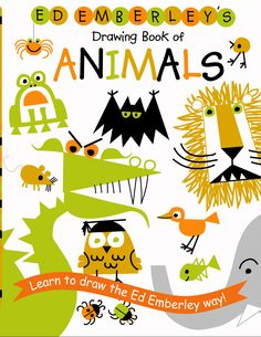 Ed Emberley's Drawing Book of Animals! Bought this for my daughters..so more 80s than 70s i guess