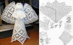 Amazing crocheted angel.....!