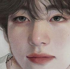 Kpop Drawings, Art Drawings Sketches, Pink Drawing, Arte Indie, Bts Aesthetic Pictures, Korean Art, Kpop Fanart, Digital Art Girl, Cute Art