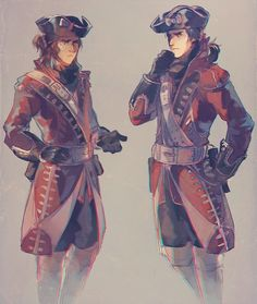 Connor and Haytham kenway