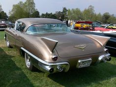 cars from 1957  | Rear left 1957 Cadillac Eldorado Seville Car Picture