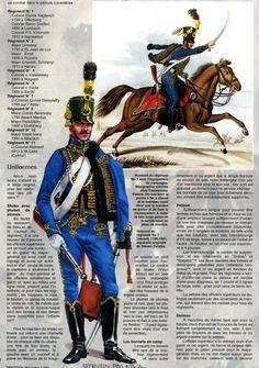 Austrian Hussar Regiment no. 7 -  Австрийские гусары 1792-815гг. | 57 фотографий