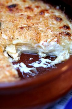 Super easy Dauphinoise Potatoes. I actually can't stop making this! so good!