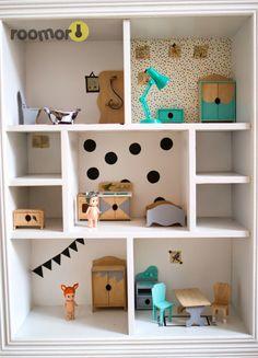 roomor! doll house , diy , washi tape, sonny angel, painting, kids craft, play, kids room, deco,