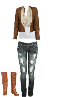 WetSeal.com Runway Outfit:  Fall Outfit by Fashionista Queen. Outfit Price $105.50
