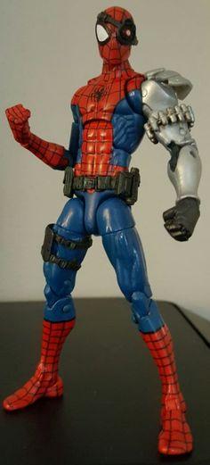 Cyborg spiderman (Marvel Legends) Custom Action Figure [I am cyborg spider-man]