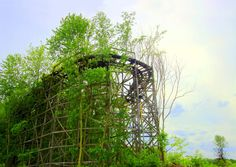 Abandoned amusement park. Chippewa Park - Ohio, US