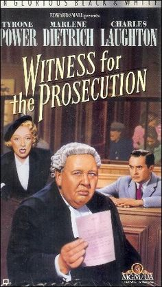 Image Gallery for Witness for the Prosecution - FilmAffinity