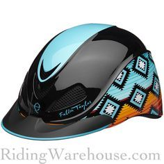Would you wear this helmet? It's a hot new favorite! Troxel Fallon Taylor New Signature Design Riding Helmet  #barrelracing #enduranceriding #horses #horseback