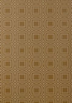 Avalon (T9295), also known by its design name Vancouver, is a gold, metallic, geometric, vinyl, wallpaper and part of the Avalon wallpaper collection by Thibaut