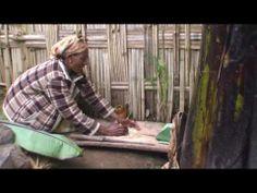 The making of kocho ! Dorze style.