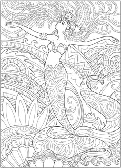 5 Mermaid Coloring Pages Do you love mermaids? Grab your colored pencils and print these FREE mermaid coloring pages! Mermaid Coloring Book, Fairy Coloring Pages, Printable Adult Coloring Pages, Christmas Coloring Pages, Free Coloring Pages, Colouring Pages For Adults, Abstract Coloring Pages, Mandala Coloring Pages, Doodle Coloring