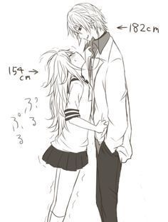 Cute to see short girls with tall boyfriends, makes for interesting, romantic moments.me and my husband. Cute to see short girls with tall boyfriends, makes for interesting, romantic moments.me and my husband. Cosplay Anime, Google Anime, Anime Love, Manga Posen, Tall Boyfriend, Couple Manga, Anime Couple Kiss, Couple Cartoon, Tall Guys