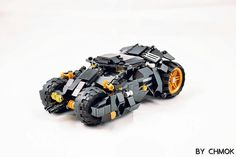 BatMobile and Pod #legos#legobricks#legomoc#legostagram#batman#batmanvssuperman#DC#legomocs#Lego | by 莫古