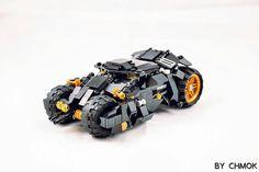 BatMobile and Pod #legos#legobricks#legomoc#legostagram#batman#batmanvssuperman#DC#legomocs#Lego   by 莫古