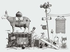 by Einar Turkowski Artist Life, Bratislava, Bilbao, Ink Art, Graphic Illustration, Surrealism, Wonderland, World, Drawings