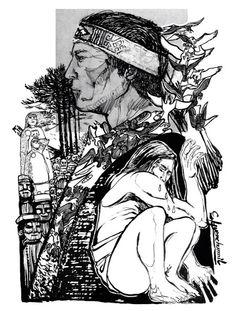 Somos una gran masa... Tattoo Indio, Anime, Tatoos, Witch, Animation, Culture, Watercolor, Drawings, Illustration