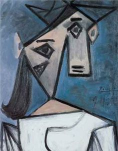 Woman's Head Stolen from Athens National Art Museum - Pablo Picasso donated this small painting to the People of Greece!