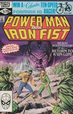 Marvel Comics Group - Iron Fist - Return To Kun-lun - Columbia - Special Double-sized Spectacular
