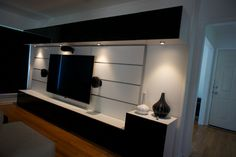 Great Entertainment Center Created With Ikea Besta And FramstaEntertainment  Wall, Tv Wall, Living Room