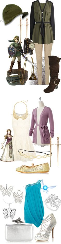 """Legend of Zelda inspired"" by ashley-jo-verity on Polyvore"