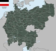 The Greater German Kaiserreich. Claims of the German Confederation, Prussia, German Austria, the Pan-German League and other connected German speaking regions, all united under one glorious Kaiser. Danzig, Egyptian Tattoo Sleeve, German Confederation, United Nations Peacekeeping, Imaginary Maps, Dragon Tattoo Back Piece, Japanese Dragon Tattoos, Fantasy Map, Alternate History