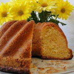 Sitruunakakku - Kotikokki.net - reseptit Yams, No Bake Desserts, Let Them Eat Cake, Cornbread, Sweet Recipes, Banana Bread, Sweet Tooth, Bakery, Food And Drink