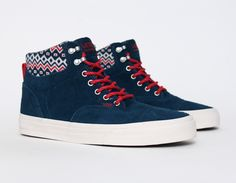 #Vans Era Hi Ca Hiker Blue #sneakers