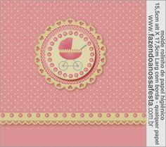 Cochecito Rosa: Etiquetas para Candy Bar para Imprimir Gratis.