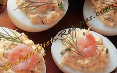 Dukan Shrimp Deviled Eggs