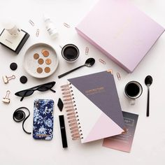 The Happiness Planner 2019 available online with The Paper Parlour.