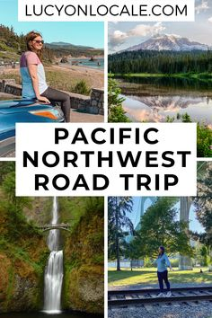 From Seattle and Portland to vineyards and national parks, here's the best pacific northwest road trip itinerary! #travel #travelblog #blog #blogger #travelblogger #destination #trip #washington #washingtonstate #seattle #northcascadesnationalpark #mtrainiernationalpark #mountrainiernationalpark #olympicnationalpark #cannonbeach #portland #mounthood #craterlakenationalpark #us #unitedstates #pacificnorthwest #roadtrip