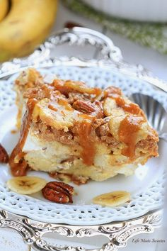 Easy Overnight Banana Pecan Streusel French Toast Bake -by -@LifeMadeSweeter.jpg