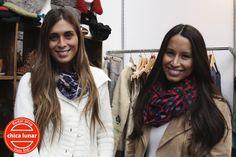 Raya al medio para ambas chicas con el pelo estilo hippie-chic con ondas suaves. #StreetHair