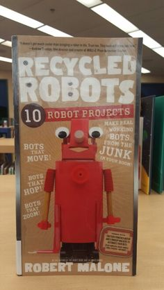 This is a book about building robot projects.