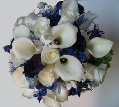 Blues Wedding Flowers Photos on WeddingWire