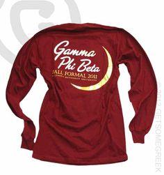 Gamma Phi Beta Crescent Formal