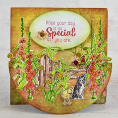 Heartfelt Creations - Farm Livin' Vermillion Red, Double Dot, Swing Card, Interactive Cards, Card Making Tutorials, Heartfelt Creations, Flower Shape, Special Gifts