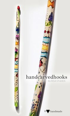 Custom decorated crochet hooks- anything you image, on you favorite tool!