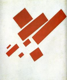 Kazimir Malevich (Russian, 1879-1935) - Suprematist Painting: Eight Red Rectangles, 1915