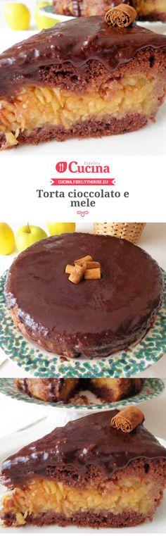 #Torta #cioccolato e #mele della nostra utente Magdalena. Unisciti alla nostra Community ed invia le tue ricette!