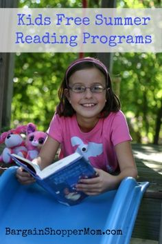 Kids FREE Summer Reading Programs - These are so great for the kids to do over the summer! Encourage them to read with fun prizes!