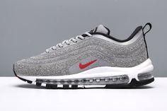 super popular d5ade a0f87 Nike Air Max 97 LXX OG Swarovski Silver Bullet Red Women Men