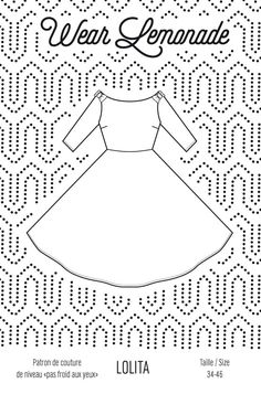 Patron de couture Lolita - PDF http://www.wearlemonade.com/fr/patrons/43-patron-de-coutre-lolita-pdf.html