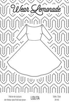 Patron de couture Lolita - PDF