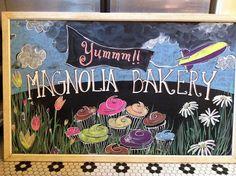 Magnolia In The Spring! Cafe TablesArt Of LivingIn ...